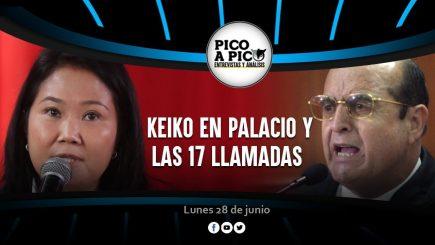 Pico a Pico: Keiko Fujimori en Palacio y las 17 llamadas de Vladimiro Montesinos