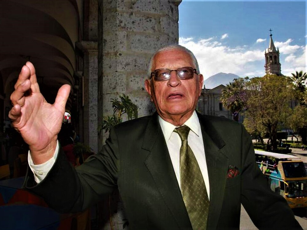 Arequipa: falleció Luis Cáceres Velásquez por covid-19