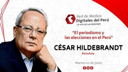 """Entrevista a César Hildebrandt: """"No espero nada de estas elecciones"""""""