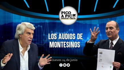 Pico a Pico: los audios de Vladimiro Montesinos