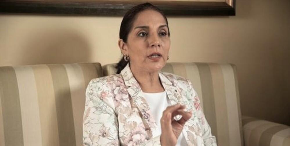 Patricia Juárez presente con Keiko Fujimori de Fuerza Popular.