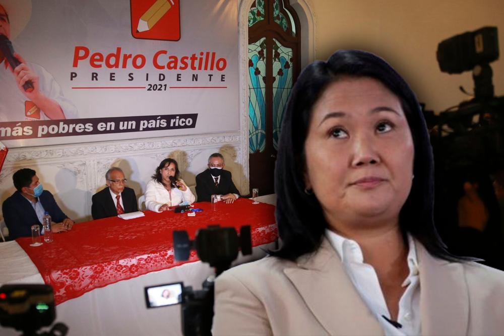 Peru libre conferencia keiko fujimori