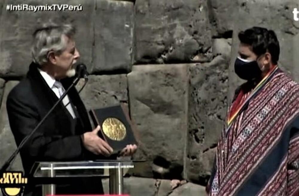 Francisco Sagasti en Inti Raymi: Transformémonos en un país que no excluya ni discrimine. tras campaña de Keiko Fujimori, Pedro Castillo.