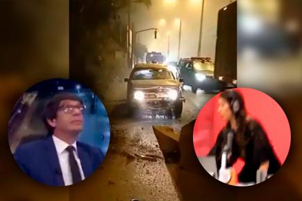 Sismo en Lima sorprendió a periodistas en vivo (VIDEO)