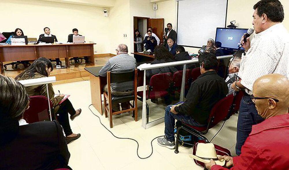 Arequipa: inicia apelación de dirigentes del Valle de Tambo, para evitar prisión.