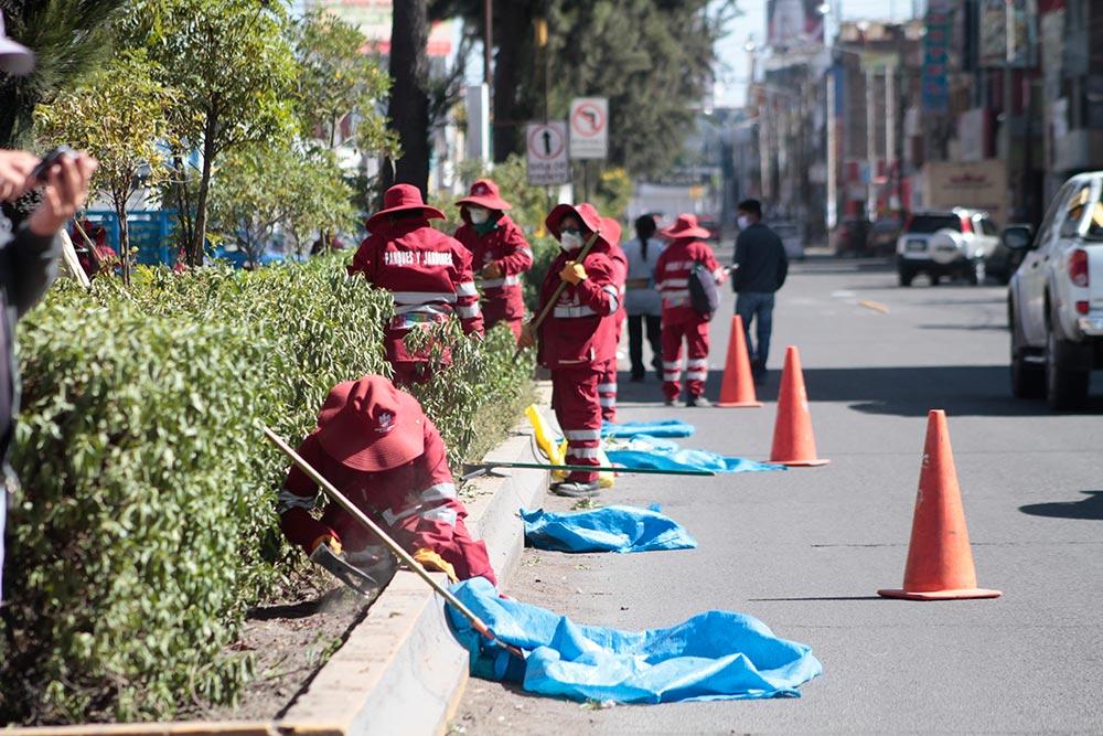 Arequipa: anuncian vacunación contra covid-19 para trabajadores ediles.