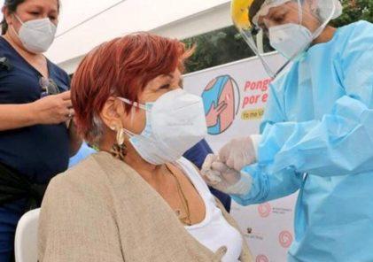 Arequipa: vacunarán segunda dosis a mayores de 60 años de 12 distritos