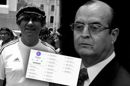 Vladimiro Montesinos hizo 17 llamadas a Pedro Rejas lo que desmiente comunicado del INPE