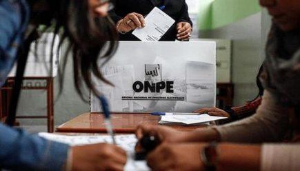 Perú Libre descarta algún tipo de fraude, durante votación en Arequipa