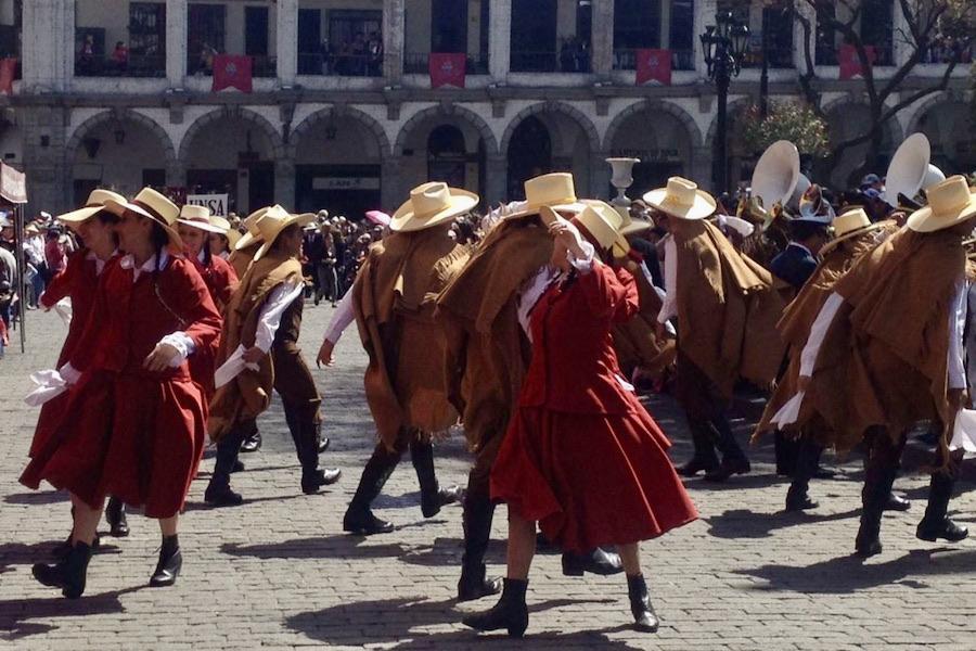 arequipa bicentenario danza