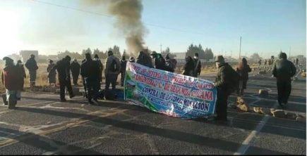 Se registran protestas por contaminación minera de río en Puno