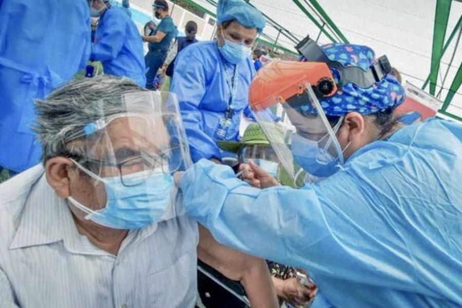 arequipa vacunación referencial