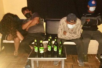 Arequipa: intervienen a once individuos libando en bar covid de la avenida Ejército
