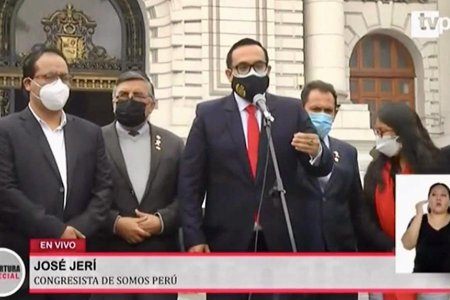 congreso presidencia mesa directiva lista 3 excluida perú libre
