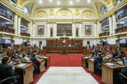 Congreso: EN VIVO elección de presidente y vicepresidentes del Legislativo