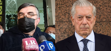 Alex Paredes de Perú Libre: Que Vargas Llosa venga al Perú y haga la denuncia