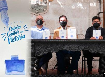 "Arequipa: Dramaturgia local con libro ""Quiero contar una historia"""