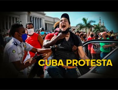 Cuba: Miles salen a manifestarse exigiendo libertad  (Video)