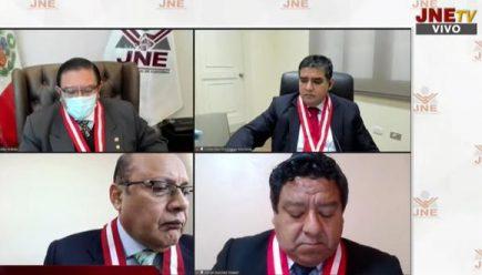 JNE espera voto de Rodríguez Monteza para publicar resoluciones