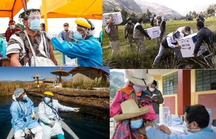 Vacunación desigual en el Perú ahonda diferencias entre regiones