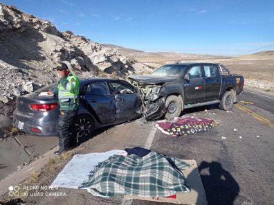 Arequipa: buscan a familiares de sobreviviente a accidente de tránsito