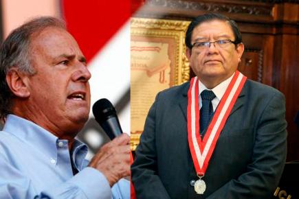 Barnechea amenazó a presidente del JNE (VIDEO)