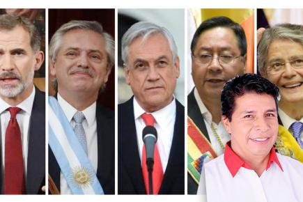 Presidentes presentes en juramentación de Castillo  | Al Vuelo