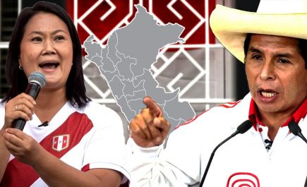 Resultados finales ONPE: Castillo venció con 50.126% a Fujimori 49.874%