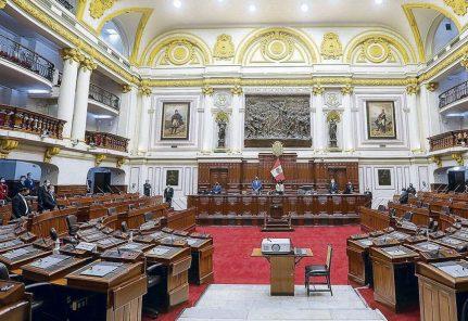 En vivo: Congreso decidió no acatar medida cautelar de suspender elección de miembros del TC