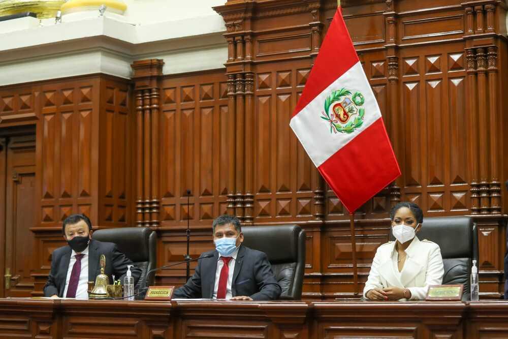 EN VIVO. Juramentan congresistas de la República para el periodo 2021-2026