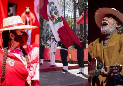 Arequipa celebró Bicentenario del Perú con música, danza y teatro (Fotos y Video)