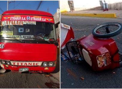 Arequipa: deberán reconstruir parte del rostro de joven heladero atropellado