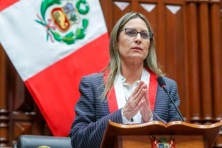 María del Carmen Alva: Esto fue lo que dijo tras juramentar (VIDEO)