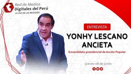 Red de Medios: Entrevista a Yonhy Lescano, excandidato presidencial de Acción Popular