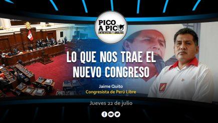 Pico a Pico: Lo que nos trae el nuevo Congreso