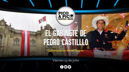 Pico a Pico: El gabinete de Pedro Castilllo