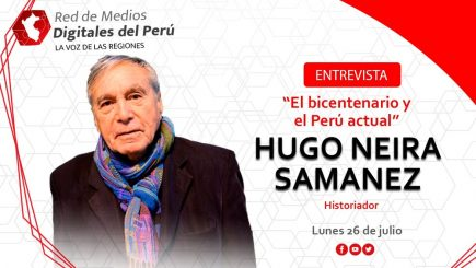 Red de Medios: entrevista a Hugo Neira sobre el bicentenario y el Perú actual