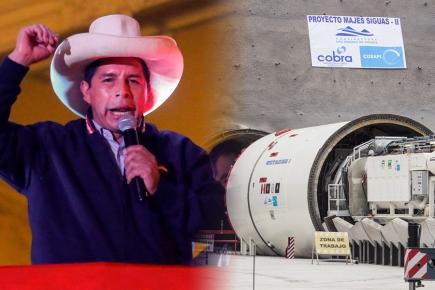 Arequipa: entorno de Pedro Castillo contactó con Autodema por Majes Siguas II