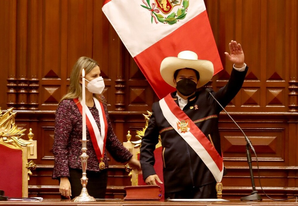 Reacciones tras primer mensaje a la nación del presidente electo Pedro Castillo