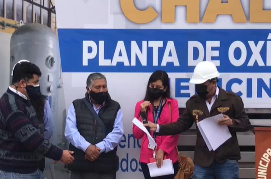 Arequipa: instalan planta de oxígeno en centro de salud de Chala