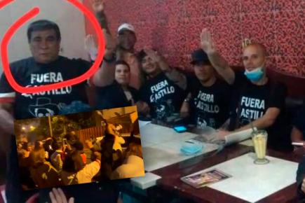 Grupo extremista acosa al jefe de la ONPE  en su casa