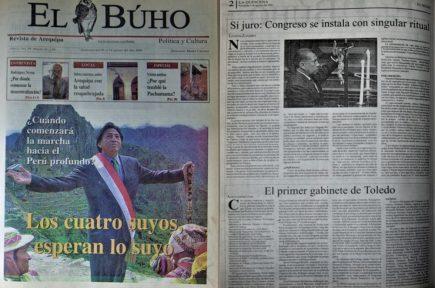 #Hace20Años Sí juro: Congreso se instala con singular ritual