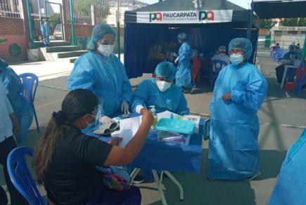 Arequipa: mayores de 50 años que aún no se han vacunado podrán hacerlo esta semana
