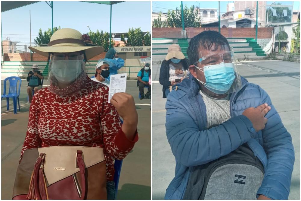 Arequipa: maestros que enseñan en zonas rurales recibieron vacuna