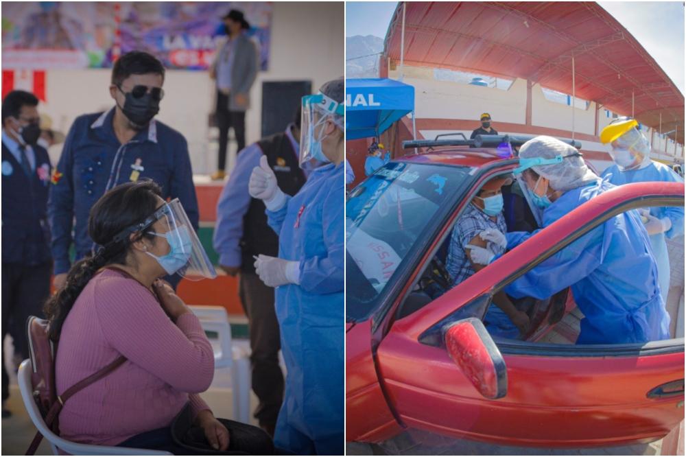 Vacuna en autos: así inicia inmunización a población de 18 y 49 años en provincias de Arequipa