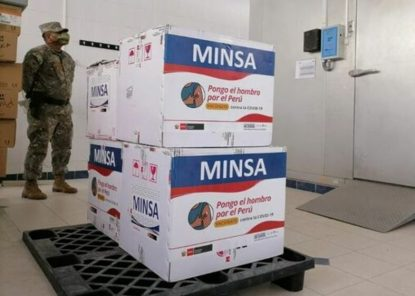 Arequipa: Minsa enviará 128 mil 400 vacunas covid-19, para inmunización