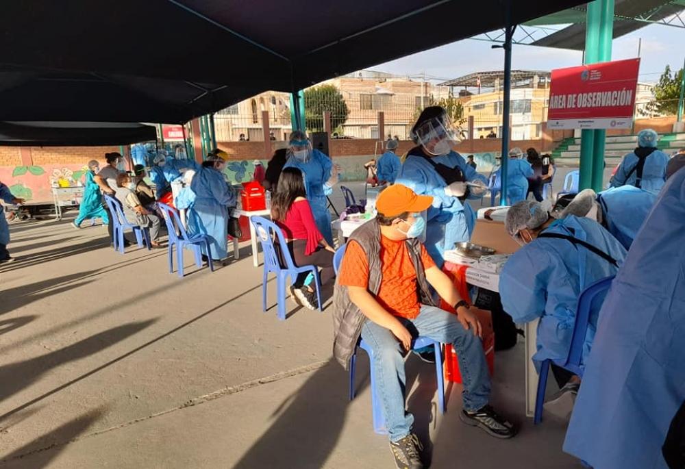 Arequipa: cuarta vacunatón se desarrollará en provincias este 28 y 29 de agosto