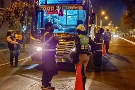 Arequipa: suba de pasajes solicitada por transportistas fue rechazada por SITransporte