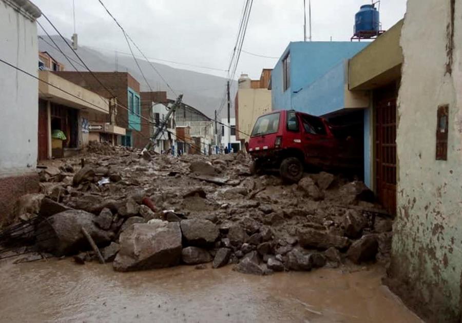 Detectan 135 zonas críticas en Arequipa frente a peligros geológicos