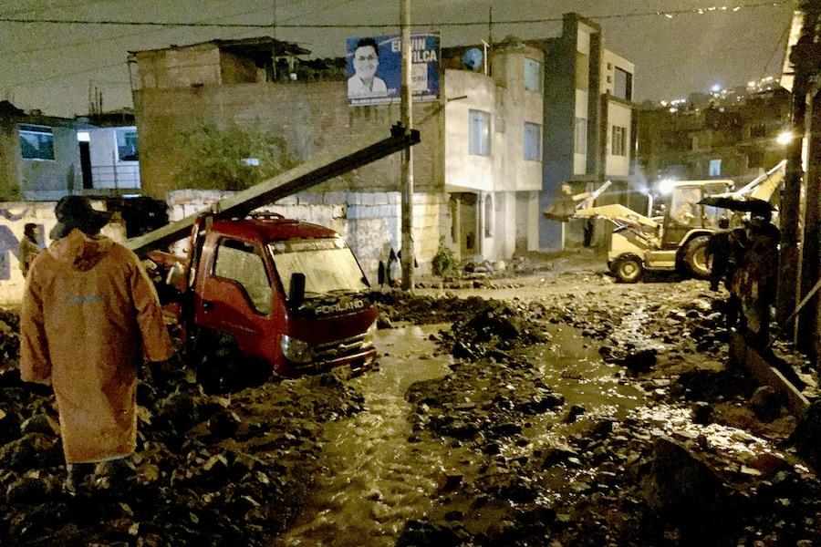 Arequipa se prepara a contrarreloj para enfrentar desastres naturales en temporada de lluvias